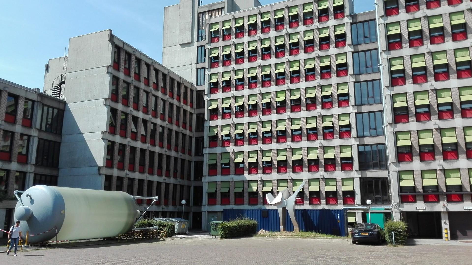 bio warmte voor kantoorgebouw